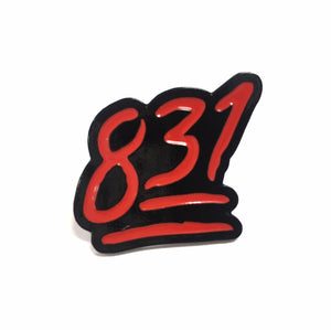 "SFC ""831"" ENAMEL PIN"