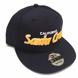 "SFC ""SANTA CRUZ CA"" NEW ERA SNAPBACK (NAVY/GOLD)"