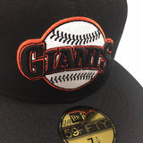 "NEW ERA ""ARCH/BALL LOGO"" SF GIANTS FITTED HAT"