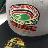"SF GIANTS ""CANDLESTICK PARK"" NEW ERA FITTED HAT"
