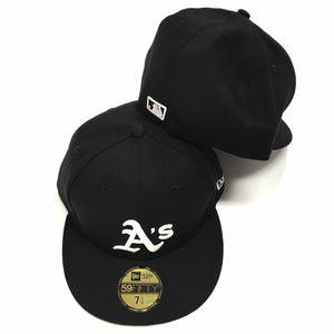 "NEW ERA ""B/W"" OAKLAND A'S FITTED"
