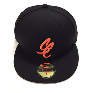 "SFC ""SC SCRIPT"" NEW ERA SNAPBACK (BLACK/ORANGE)"
