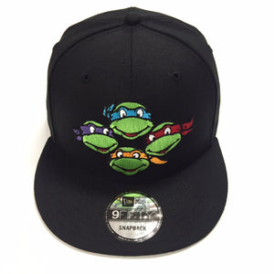 "NEW ERA ""TMNT FACES"" SNAPBACK"