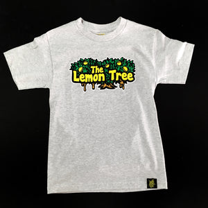 "LEMON TREE ""LOGO"" TEE (ASH HEATHER)"