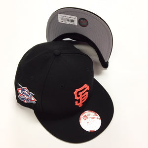 "NEW ERA ""BAYCIK SIDEPATCH"" SF GIANTS SNAPBACK"