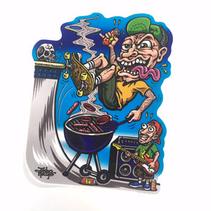 "JIMBO PHILLIPS ""SK8 BBQ"" STICKERS"
