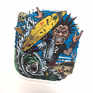 "JIMBO PHILLIPS ""SURF PUNK"" STICKERS"