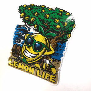 "LEMON TREE ""BEACH"" STICKER"