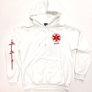 "SOB X RBE X SO FRESH CLOTHING ""PARAMEDIC"" HOODY (WHITE)"
