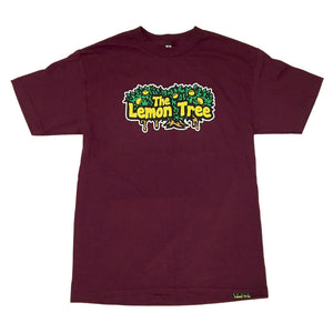 "LEMON TREE ""LOGO"" TEE (BURG)"