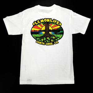 "LEMON TREE ""LEMON LIFE"" TEE (WHITE)"