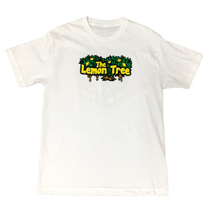 "LEMON TREE ""LOGO"" TEE (WHITE)"