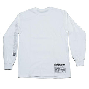 "COMPUTER ""CAD"" LONGSLEEVE TEE (WHITE)"