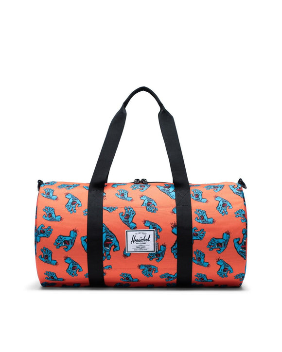 "HERSCHEL X SANTA CRUZ SKATEBOARDS ""SUTTON"" DUFFLE BAG"