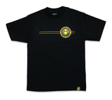 "LEMON TREE ""CALIFORNIA SEAL"" TEE (BLACK)"