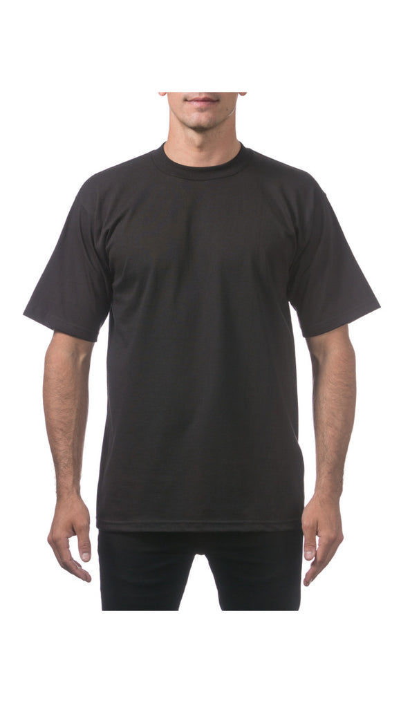 PRO CLUB HEAVY WEIGHT S/S TEE (BLACK)