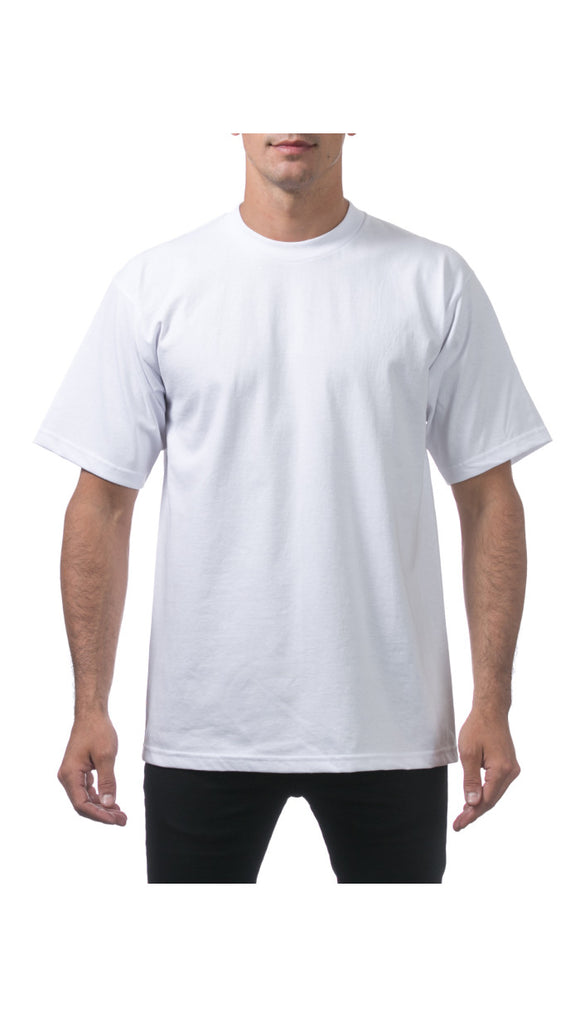 PRO CLUB HEAVY WEIGHT S/S TEE (WHITE)