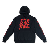 "SOB X RBE ""LOGO"" HOODY (BLACK/RED)"