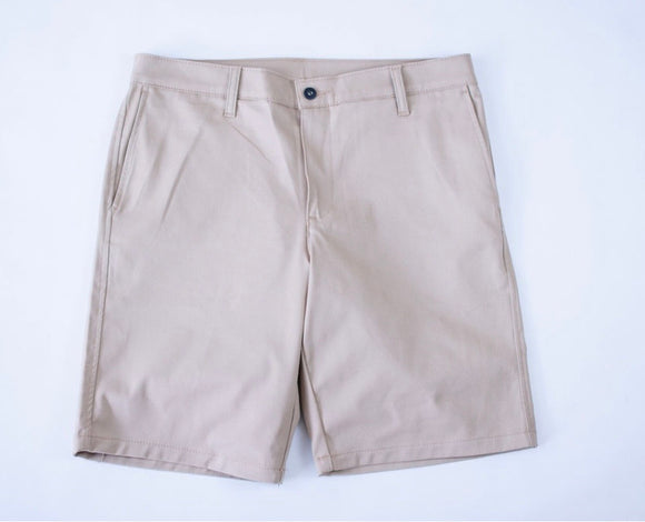 KENNEDY CHINO SHORTS (KHAKI)
