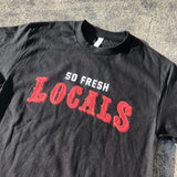 "SFC ""LOCALS 2.0"" TEE (BLACK/RED/GOLD)"