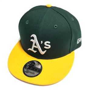 "NEW ERA ""ON FIELD"" OAKLAND A'S SNAPBACK"