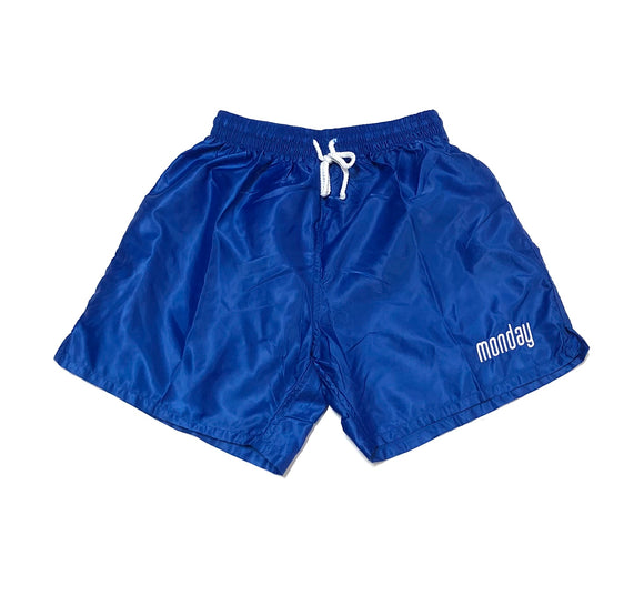 "MONDAY ""SOCCER"" SHORTS (ROYAL)"