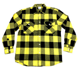 EXTRA HEAVYWEIGHT FLANNEL  SHIRT (YELLOW)