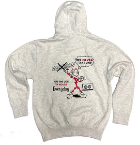 "CASH CROP ""POWER & LIGHTING"" HOODY (OATMEAL HEATHER)"