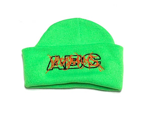 "ABC KIDSWEAR ""VITAMINS 2.0"" BEANIE (GREEN)"