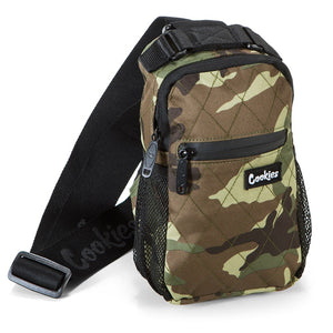 "COOKIES ""NOAH"" SMELL PROOF SHOULDER/SLING BAG (CAMO)"
