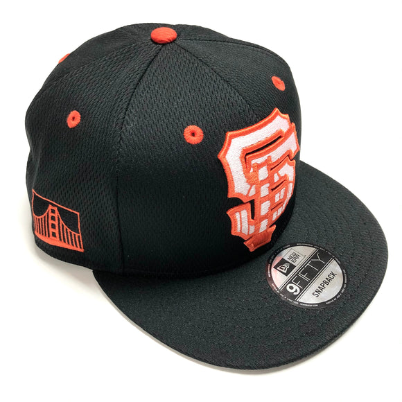 "NEW ERA ""MESH CITY"" SF GIANTS SNAPBACK"