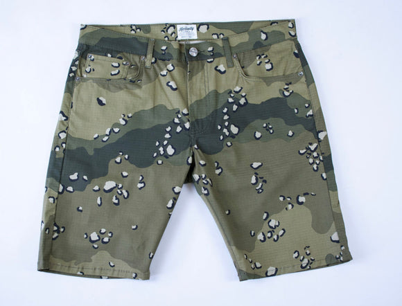 KENNEDY CHINO SHORTS (STORM CAMO)
