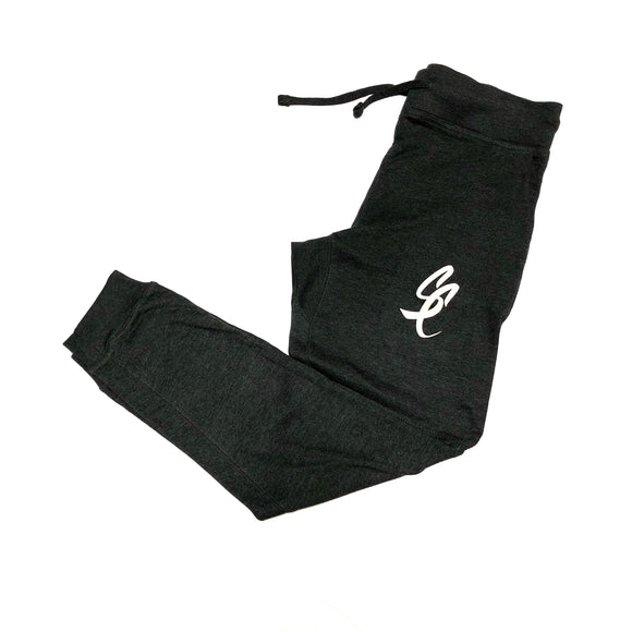 "SFC ""SC SCRIPT"" FRENCH TERRY JOGGERS (CHARCOAL HEATHER)"
