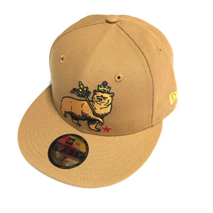 "SFC ""CA BEAR OF JUDAH"" FITTED HAT (WHEAT)"
