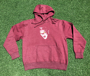 "SFC ""BLOOD BATH"" HOODIE (BURGUNDY HEATHER)"