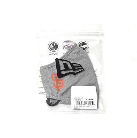 "NEW ERA ""OFFICIAL ON-FIELD"" SF GIANTS FACE MASK (GREY)"