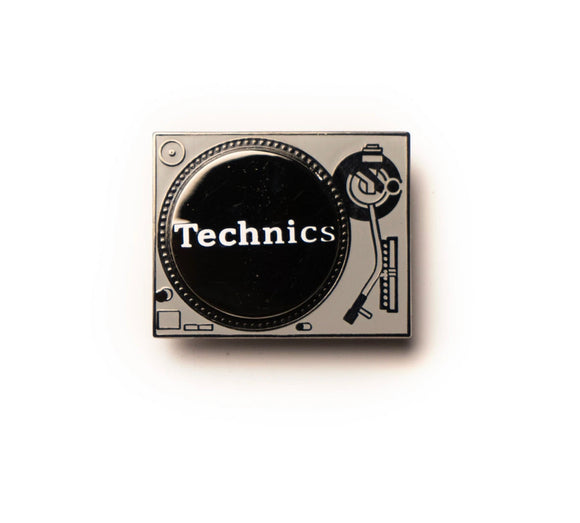 "GOOD DOPE ""SPINNING TURNTABLE"" PIN"