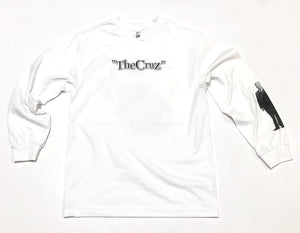 "SFC ""THE CRUZ"" LONGSLEEVE TEE (WHITE)"