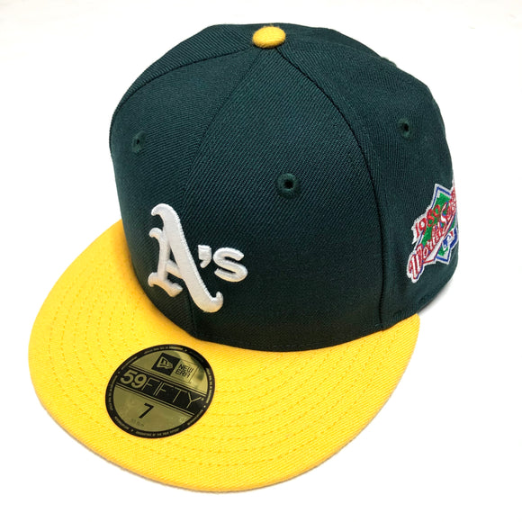 "NEW ERA ""1989 WS SIDE PATCH"" OAKLAND A'S FITTED HAT"