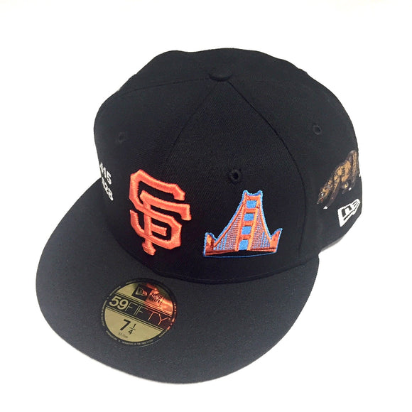 "NEW ERA ""LOCAL ICONS"" SF GIANTS FITTED HAT"