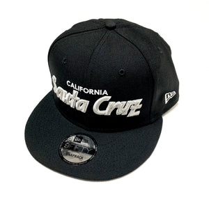 "SFC ""SANTA CRUZ CA"" NEW ERA SNAPBACK (BLACK/GREY)"