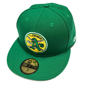 "NEW ERA ""1971 SWINGIN A'S"" OAKLAND A'S FITTED HAT"