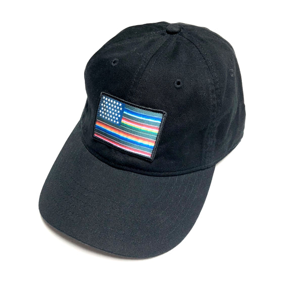 "AKOMPLICE ""MI BANDERA"" DAD HAT (BLACK)"
