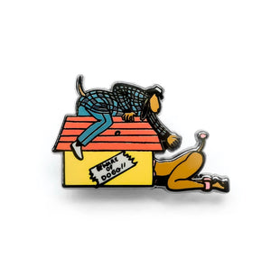 "GOOD DOPE ""DOGG HOUSE"" PIN"