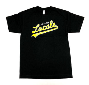 "SFC ""OAK LOCALS"" TEE (BLACK/YELLOW/WHITE)"