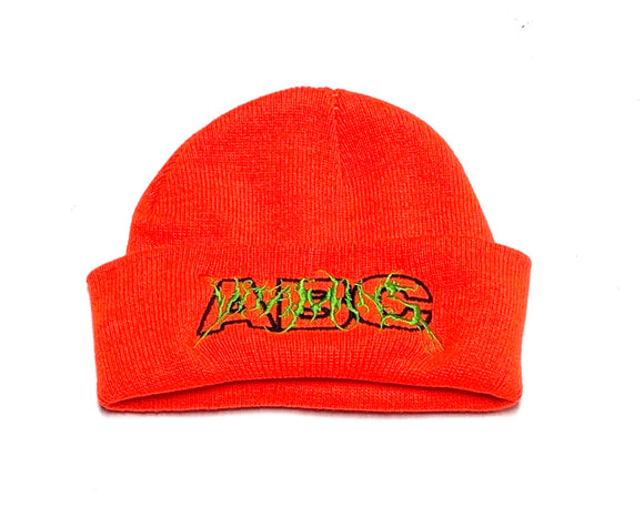 "ABC KIDSWEAR ""VITAMINS 2.0"" BEANIE (ORANGE)"