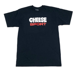 "EXTRA CHEESE ""CHEESE SPORT"" TEE (NAVY)"