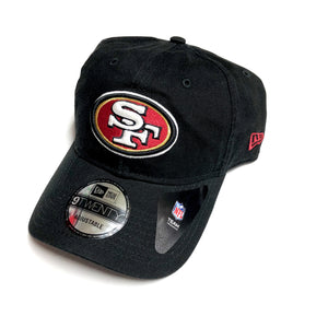 "NEW ERA ""BASIC"" SF 49ERS DAD HAT (BLACK)"