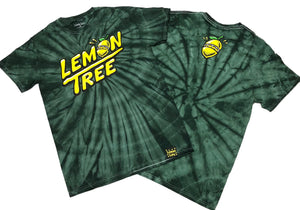 "LEMON TREE ""HANDSTYLE"" TEE (GREEN TIE DYE)"