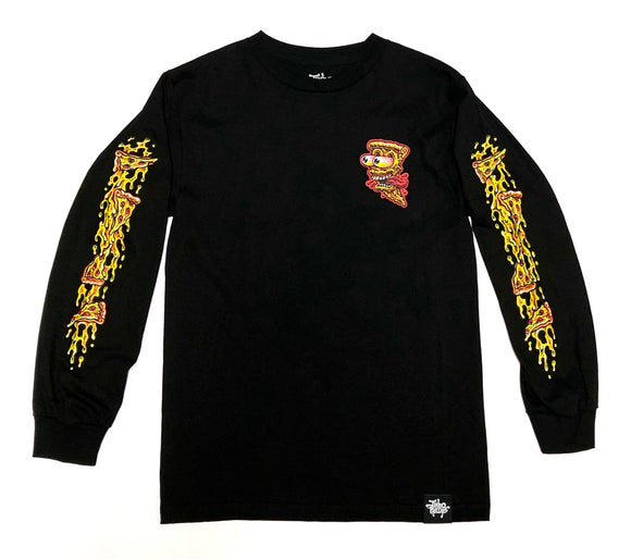 "JIMBO PHILLIPS ""PIZZA 2.0"" LONGSLEEVE TEE"